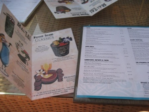 Menus at The Mai Tai Lounge