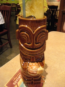 Tiki mug at Cheeseburger Las Vegas