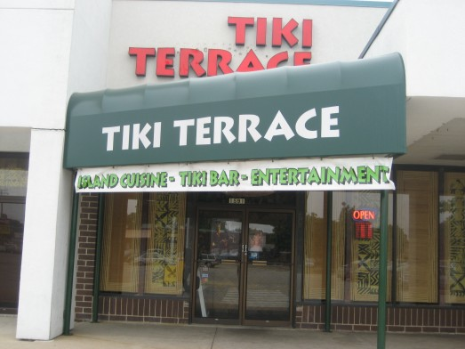 Outside Tiki Terrace