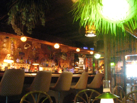 The bar of the Hala Kahiki in River Grove