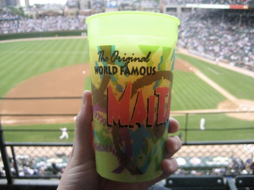 Mai Tai at Wrigley Field