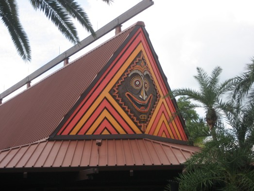 Polynesian Resort at Disney World