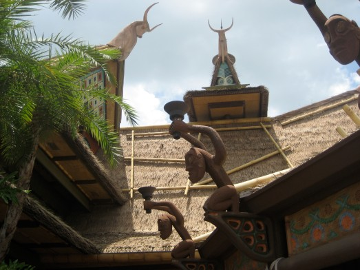 Outside the Enchanted Tiki Room