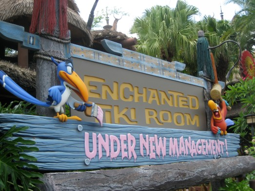 Enchanted Tiki Room - Under New Management