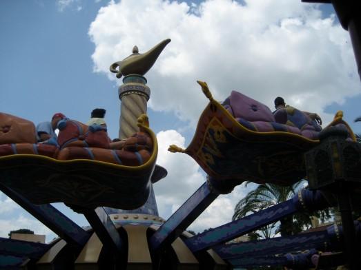 Magic Carpet Ride at Disney World