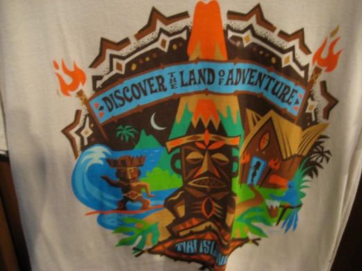 Pele in Adventureland t-shirt
