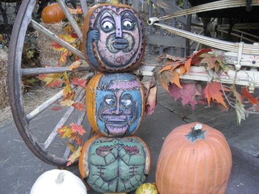 Enchanted Tiki Room pumpkins