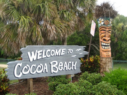 Now entering Cocoa Beach