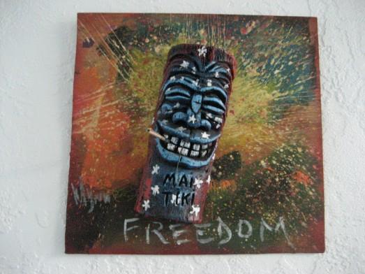 Freedom tiki