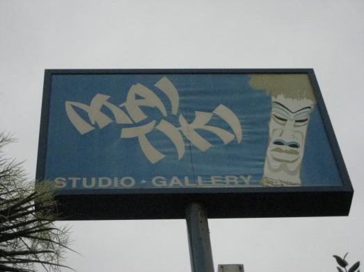 Mai Tiki sign