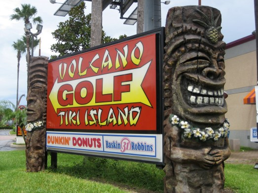 Volcano Golf Tiki Island