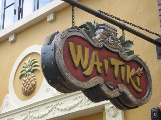 WaiTiki signage