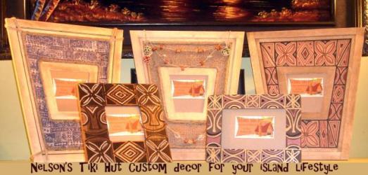 Nelson's Tiki Hut frames