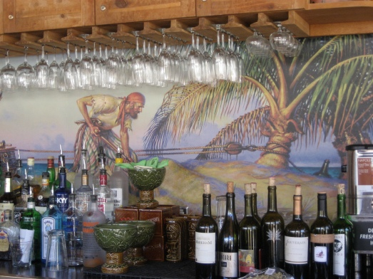 The Beachcomber Cafe's volcano bowl