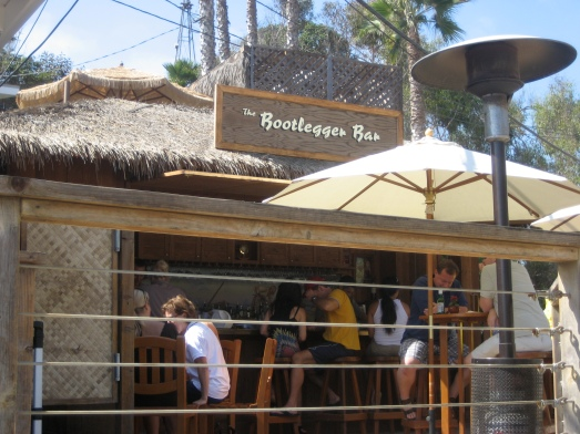 The Bootlegger Bar at The Beachcomber Crystal Cove