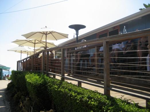 The Bootlegger Bar patio