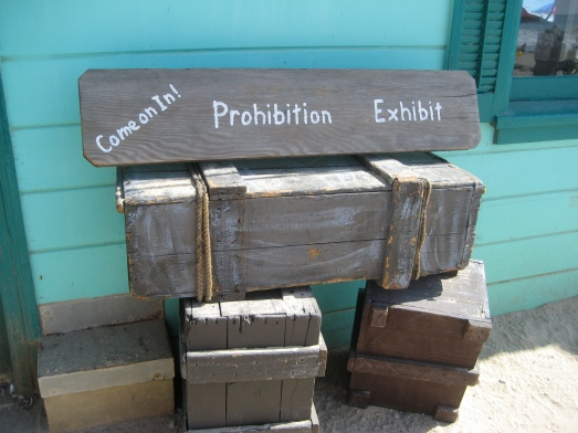 Prohibition exhibit