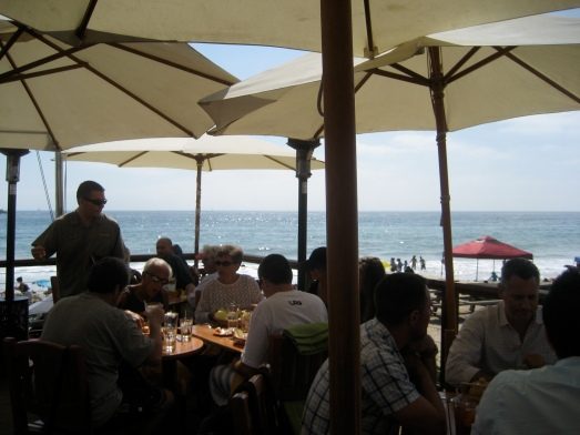 Beachcomber's outdoor patio