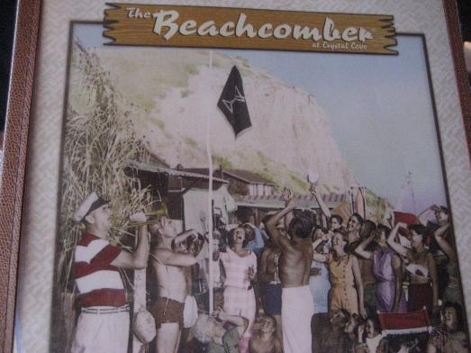 The Beachcomber Cafe menu