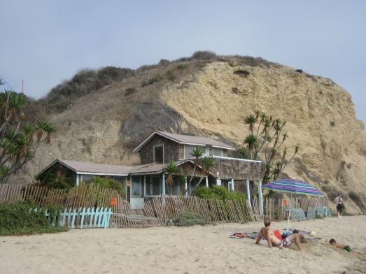 Condemned beach house at Crystal Cove