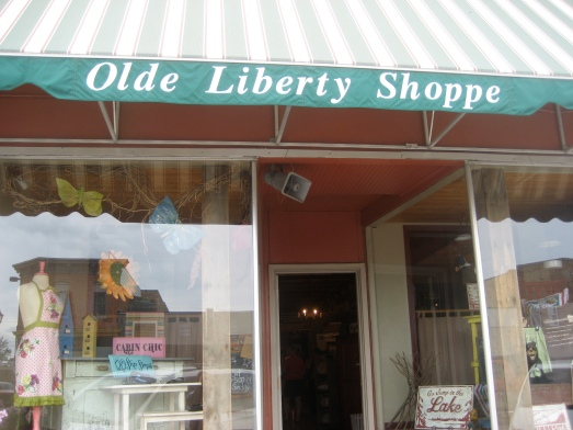 Old Liberty Shoppe in Park Rapids, Minnesota