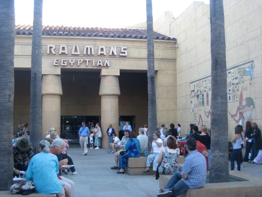 Courtyard of the Egyptian Theatre