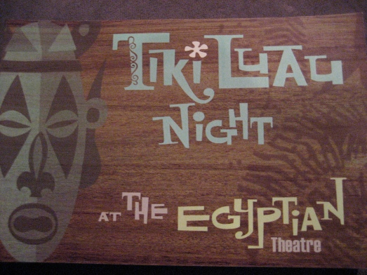 Tiki Luau Night at the Egyptian Theatre