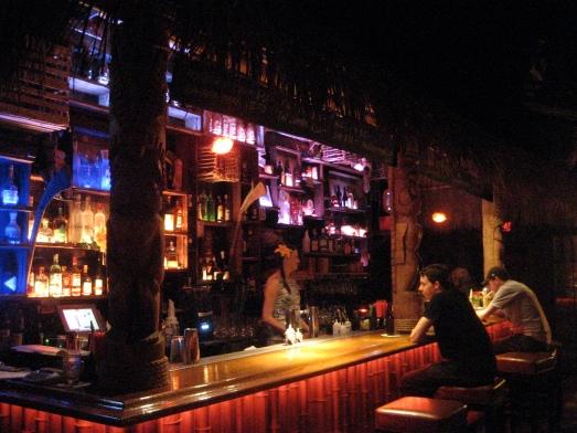 Bar at Tiki No in North Hollywood