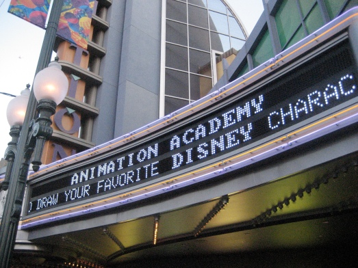 Animation building at California Adventure