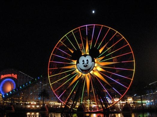 Ferris wheel at California Adventure