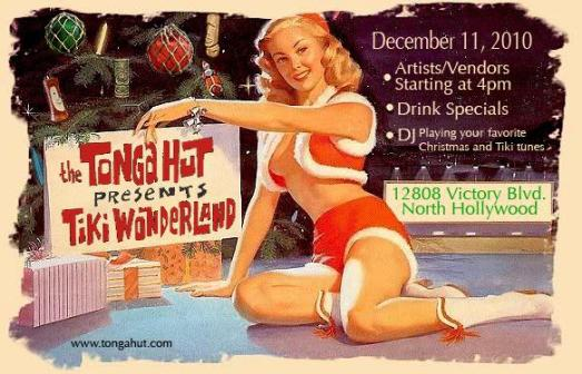 Tiki Wonderland flyer