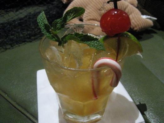 Tiki Wonderland cocktail at the Tonga Hut