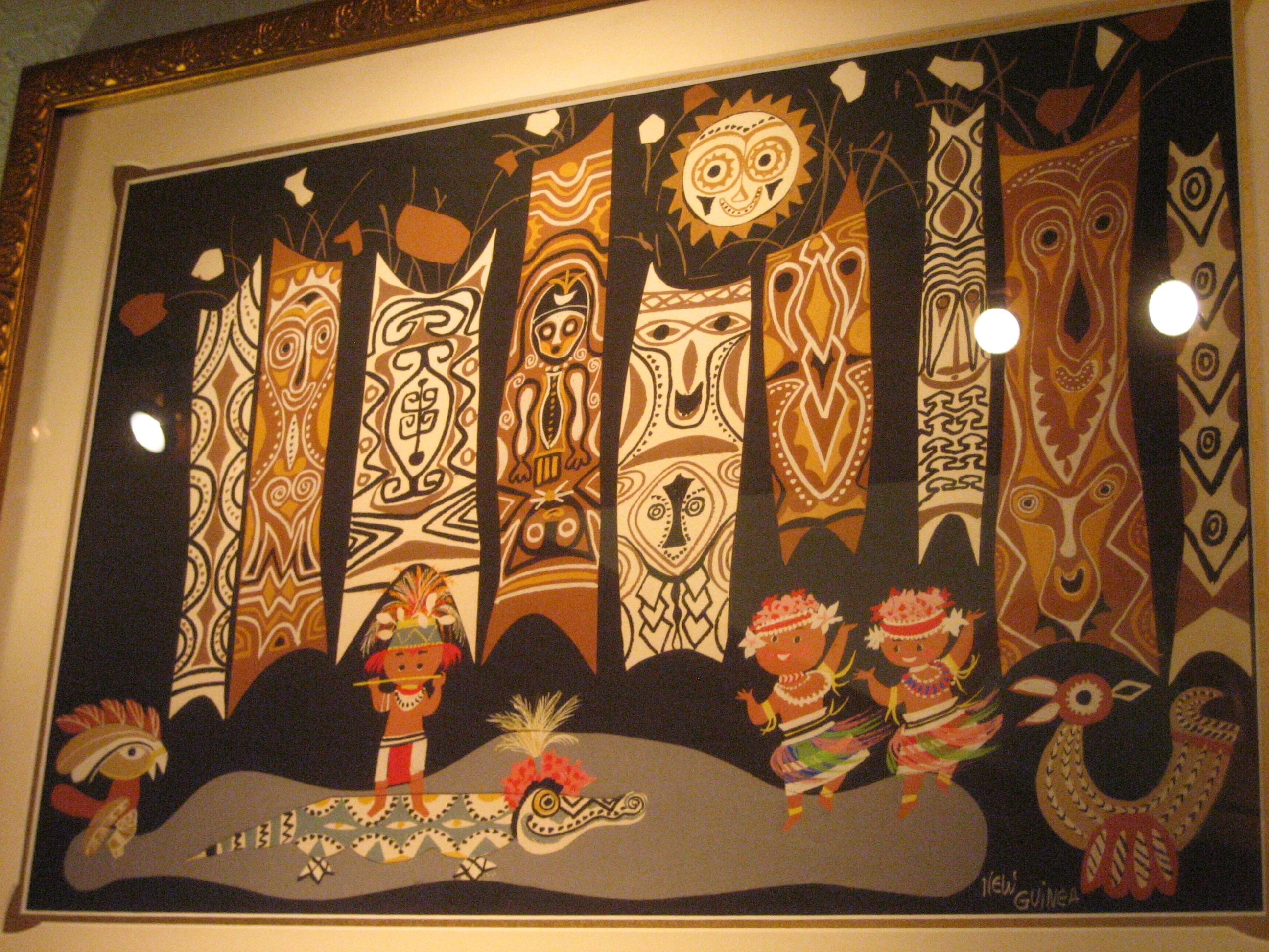 Concept Art Disney Tiki Room